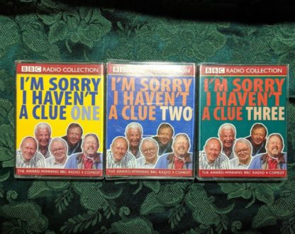 I M Sorry I Haven't A Clue Bbc Cassette Vol 1, 2 And 3 In Good Condition