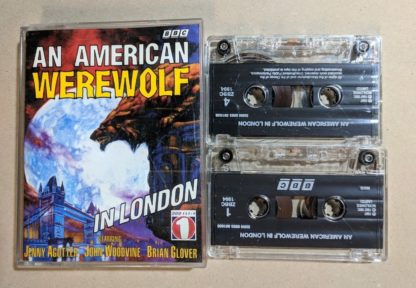 Jenny Agutter An American Werewolf In London 2x Bbc Cassette Audio 0563381035