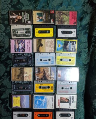 Joblot 35 X Classical Music Cassettes Tapes Rca Emi Hmv Phillips Grammaphon